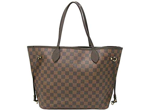 Neverfull Style Damier Canvas Woman Organizer Handbag MM Size by Mykola Khvattsev ()