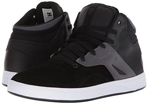 Pictures of DC Men's Frequency HIGH Skate Shoe ADYS100410 Black/White 4