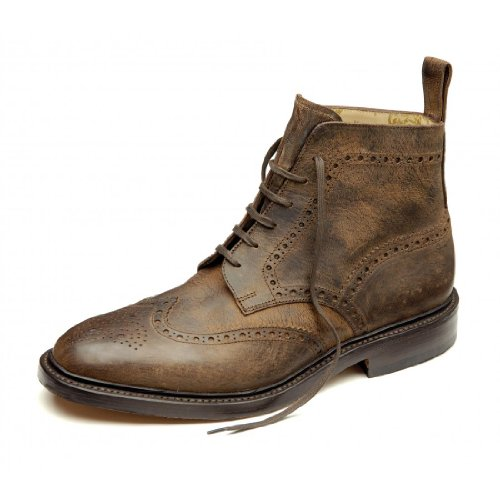 mens-loake-lace-up-ankle-boots-banks-brown-leather-size-9g