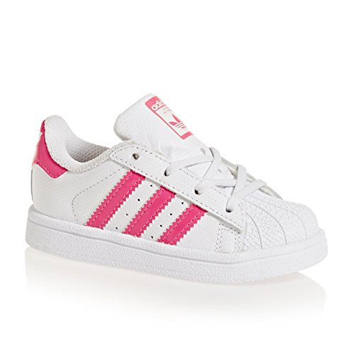 adidas Originals Shoes Superstar I Shoes - Ftwr White/Real Pink S18/White