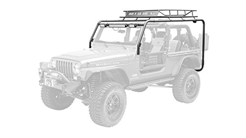 Body Armor TJ-6124-1 Roof Rack Base For Use w/PN[TJ-6124-2/TJ-6125-2] Incl. Uprights and Hardware Roof Rack Base