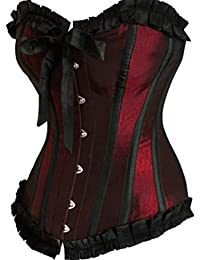 Anvoro Women's Vintage Bowknot Waist Training Corset