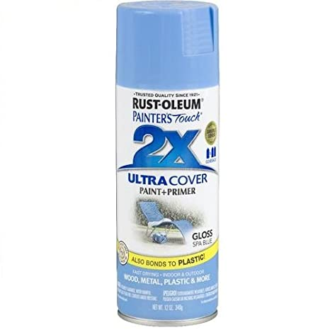 Rust-Oleum 249093 Painter's Touch Multi Purpose Spray Paint, 12-Ounce, Spa Blue
