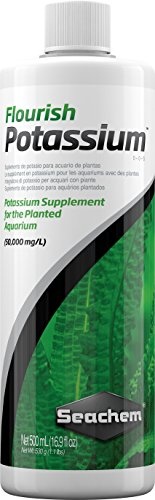 Details about Seachem Potassium Supplements Flourish Planted Fish Aquarium  500ml Pet Suppliers
