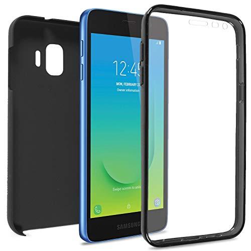 (CoverON SlimGuard Series for Samsung Galaxy J2 Pure Case/Galaxy J2 Dash Case/Galaxy J2 Core Case Full Body Slim Fit Phone Cover - Black)