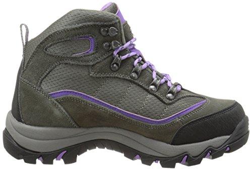 Tec Hiking Women's Boot Skamania Mid Hi Waterproof Viola Grey Rise x7Yqgdg5
