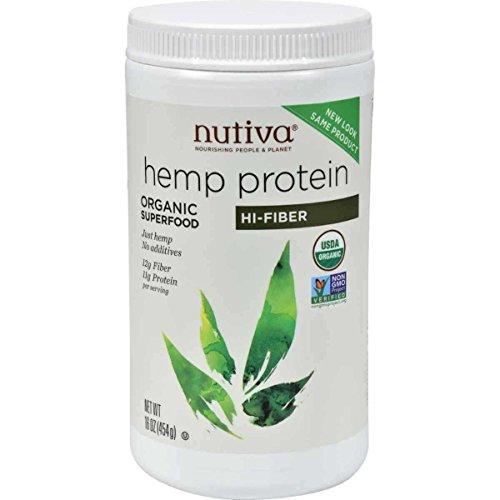 Nutiva Organic Protein Fiber 16 Ounce