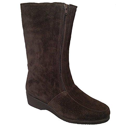 Drapers Ladies Ambleside Brown Suede Boot Water Resistant Brown fDZcpzc