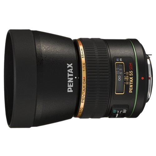 PENTAX スターレンズ 望遠単焦点レンズ DA★55mmF1.4 SDM Kマウント APS-Cサイズ 21790   B001GNBLTO