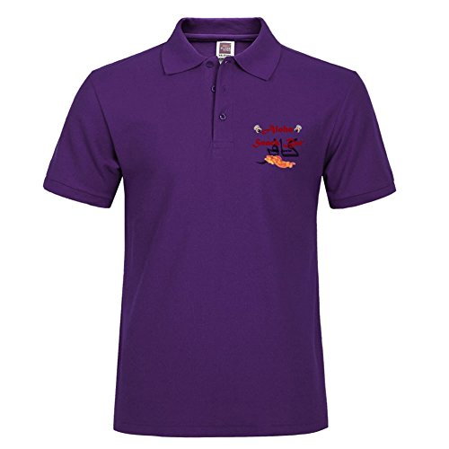 Purple Short Polo With Various Style Sport Men Polo Shirt Size X-large - Lebanon Tn Outlets