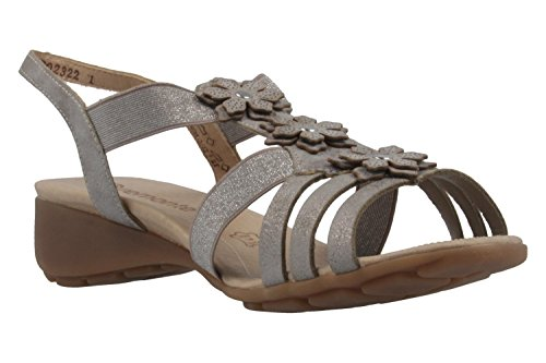 Fashion Women's Sandals Remonte 3 grey grey 68Hqp