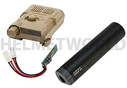 Amazon.com: Airsoft xcortech x3300 W Tracer unidad linterna ...