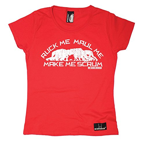 Rugby Gift Womens Scrum T SHIRT product image