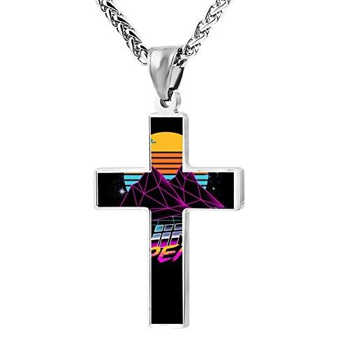 Kenlove87 Patriotic Cross Fad Twin Peaks Religious Lord'S Zinc Jewelry Pendant (Easy Pop Culture Costumes)
