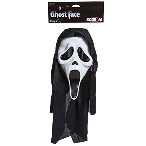 [Scream 4 Ghost Face Halloween Mask] (Scream Classic Ghost Face Child Costumes)