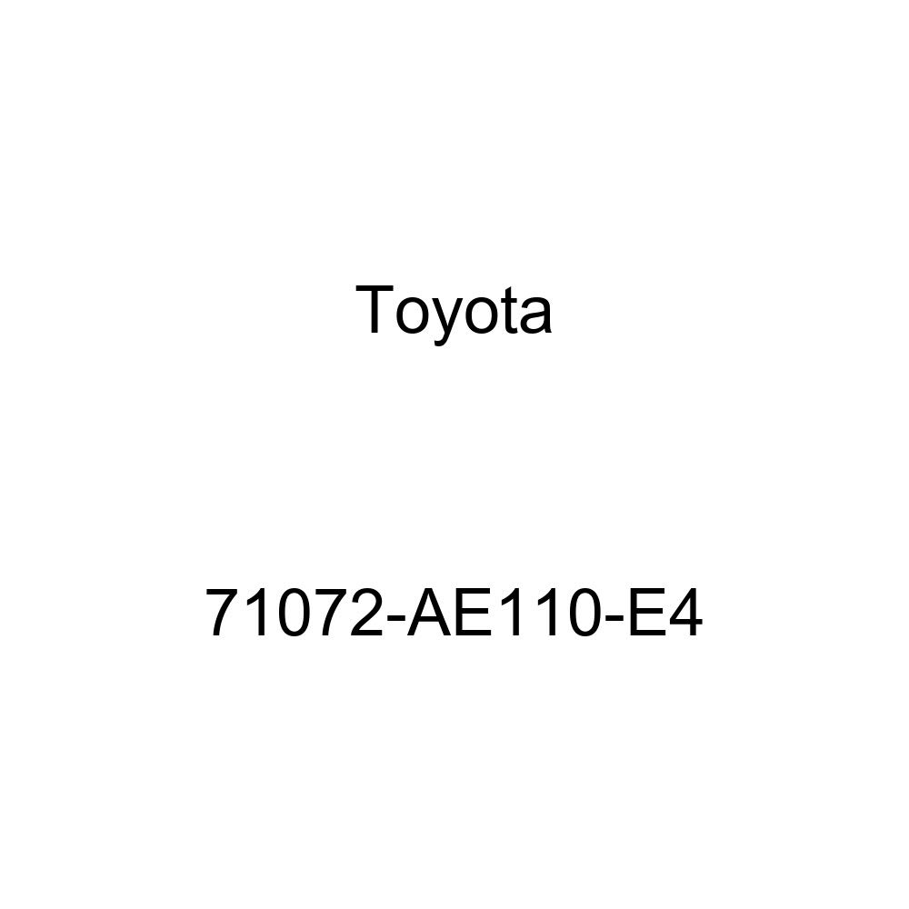 Toyota Genuine 71072-AE110-E4 Seat Cushion Cover