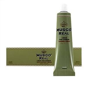 Musgo Real - Crema de afeitar (lima y albahaca)