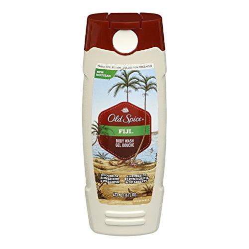 Old Spice свежая коллекция Фиджи аромат Мужская Body Wash 16 Oz (в упаковке 3)