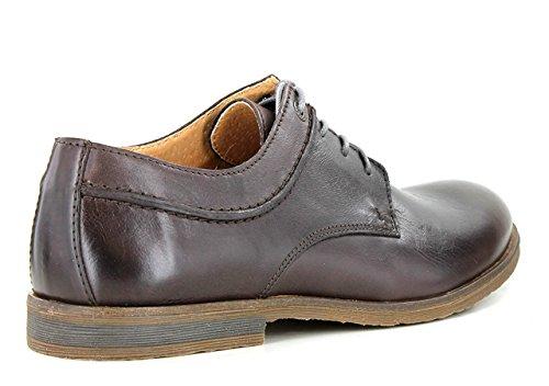 Zapatos marrones de punta abierta formales Kickers infantiles ZDhuE