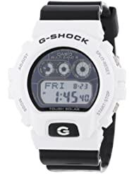 Casio Mens GW6900GW-7 G-Shock Atomic Timekeeping Digital Black and White Watch