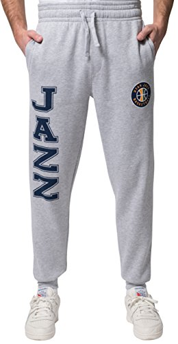 NBA Men's Utah Jazz Jogger Pants Active Basic Soft Terry Sweatpants, Medium, Gray - Mens Jazz Pants