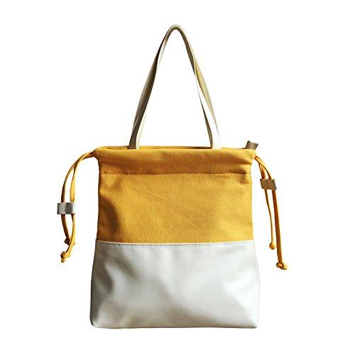 HSXuan - Bolsa niña Mujer Amarillo