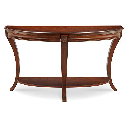 - Magnussen T4115-75 Winslet Demilune Sofa Table, 29