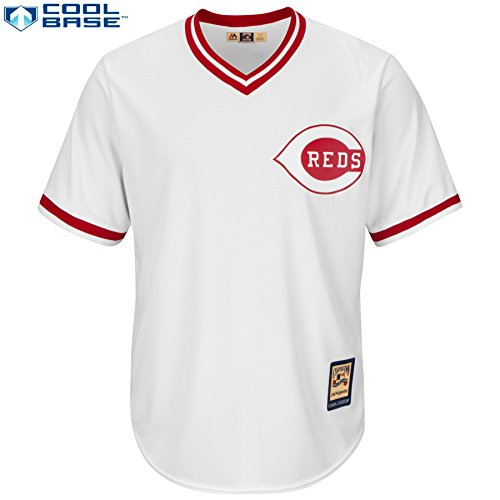 Majestic Reds Cooperstown Jersey (Cooperstown Jersey Collection Majestic)