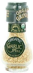 Drogheria & Alimentari Organic All Natural Spice Grinder Garlic, 1.76 Ounce Jars (Pack of 3)