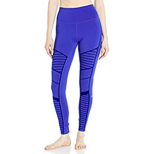 Alo Yoga Women's High Waist Flocked Moto Legging