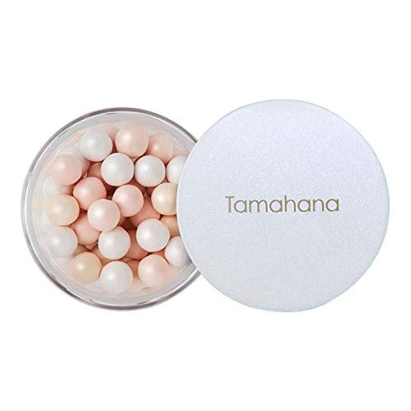 統合する血まみれの添加剤Tamahana(タマハナ) シャイニー ブライトニングルースパウダー パフ付 <フェイス?ボディーパウダー>