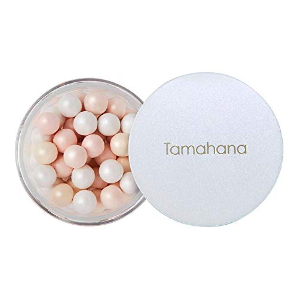 階下プット呼びかけるTamahana(タマハナ) シャイニー ブライトニングルースパウダー パフ付 <フェイス?ボディーパウダー>
