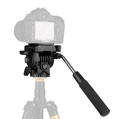 pangshiビデオカメラ三脚アクション流体ドラッグPan Head for Canon Nikon Sony DSLRカメラビデオカメラ撮影撮影