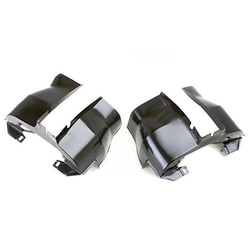 EMPI 16-9501 Off-Road Dual Port Shrouds, Trimmed, Black, Pair, VW Bug, Baja, Volkswagen, Sand Rail, Sand - Rail Volkswagen Sand