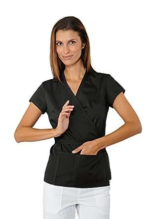 Isacco-túnica Esthéticienne, Corte Kimono, Color Gris: Amazon.es: Industria, empresas y ciencia