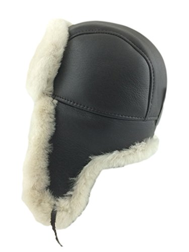 Leather Winter Hat - 4