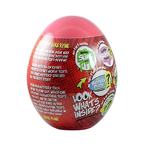 Ryan's World Giant Mystery Eggs (Color May Vary) Boys Kids Toddlers Slo Rize Squishy Combo Panda Pocket Watch Putty Egg (Bonus Dino Train) by Ryan's World (Image #3)