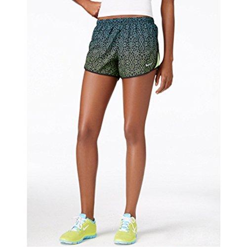 [Nike Starglass Printed Dri-fit Tempo Shorts Black Medium] (Dri Fit Tempo Running Shorts)