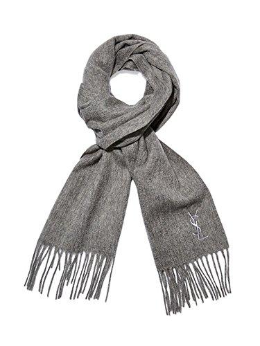 yves-saint-laurent-ysl-womens-wool-scarf-grey