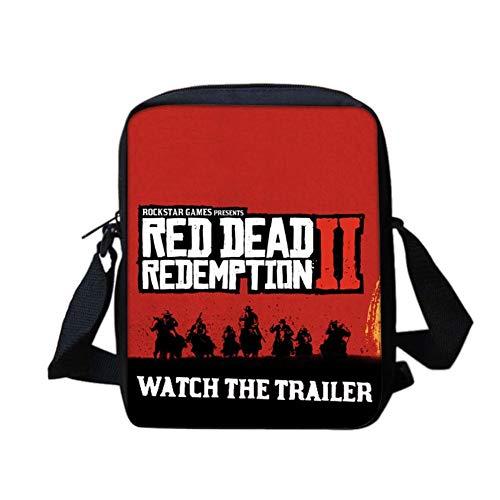 cerniera Red Student Redemption Backpack Retro a Dead Game unisex 2 Classic Heling896 unisex tracolla Borsa Sport a 05 Borsa cSqcwTvWO