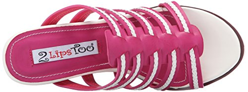 Wedge Too Lips Fuchsia Women Too Umbre Sandal 2 qXOtgZxwX