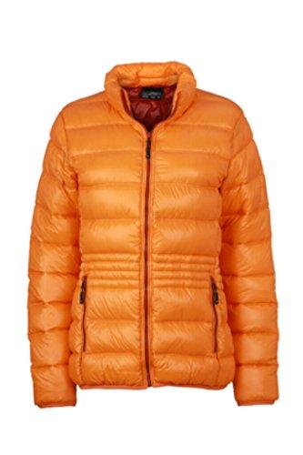 James & Nicholson ligero de plumón Chaqueta con cuello alto en diseño deportivo orange/rust