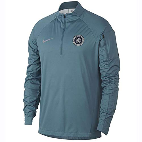 Nike 2018-2019 Chelsea Drill Training Top (Teal)