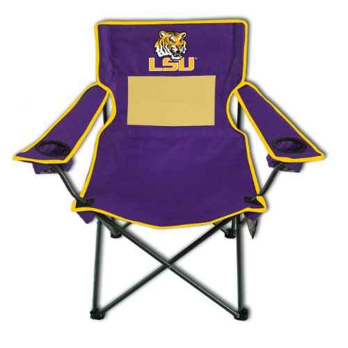Chair Monster Folding Mesh - Rivalry NCAA LSU Tigers Monster Mesh Folding Chair