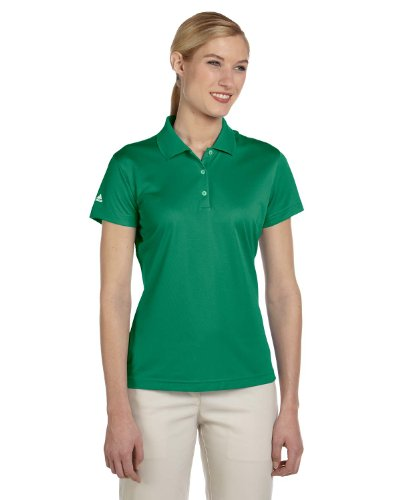 Adidas Women'S Golf Climalite Basic Performance Pique Polo Amazon S (Polo Womens Golf Pique)