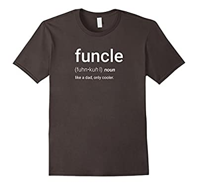 Mens FUNCLE Definition Uncle Gift Funny T-Shirt