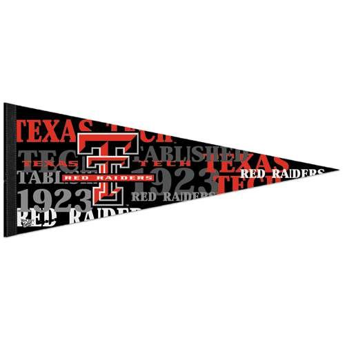テキサスTechレッドRaidersプレミアムペナント – 12