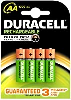 Duracell Recharge Ultra Piles Rechargeables type AA 2500mAh, Lot