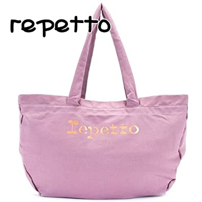 7589ea96727d レペット repetto バッグ レディース トートバッグ コットン トートバッグ ローズピンク B0213T 075 ROSE THE [
