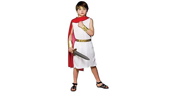 Roman Boy - Kids Costume 5 - 7 years: Amazon.es: Juguetes y ...
